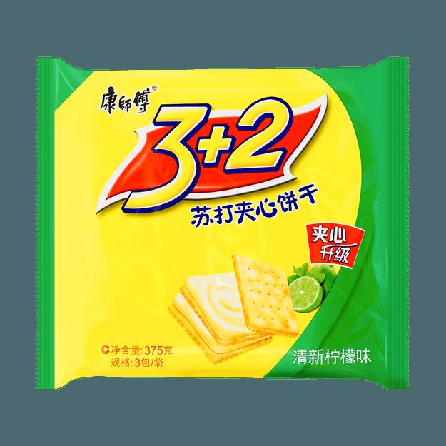 Product Detail - 3+2 Soda Biscuit Lemon 375g - image  0