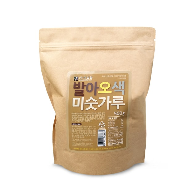 Product Detail - MISILLAN Germinated Five-Colored Mix Grain Powder 500g - image 0