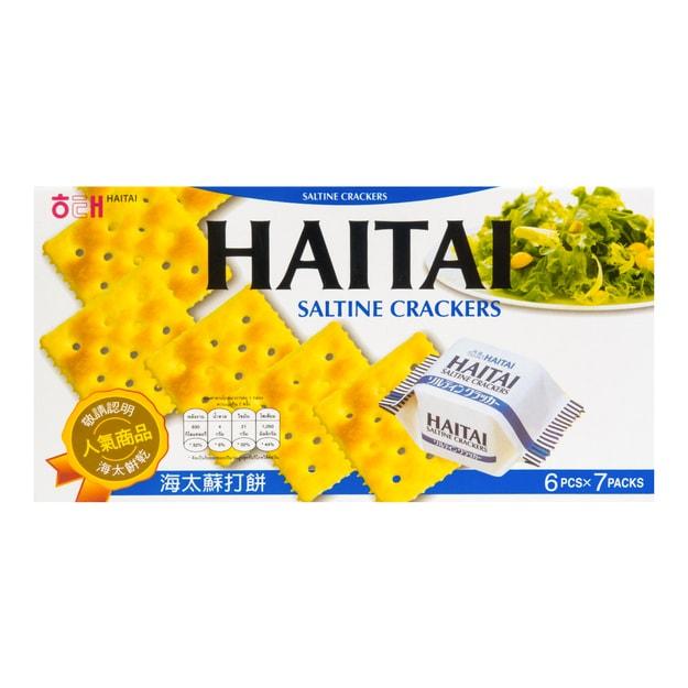Product Detail - HAITAI Saltine Crackers 7packs - image 0