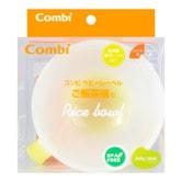 日本COMBI康贝 婴儿餐具辅食训练碗 硅胶防滑宝宝碗 饭碗型 单件入