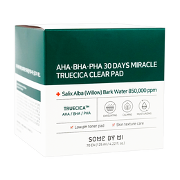 SOME BY MI AHA BHA PHA 30Days Miracle Truecica Clear Pad 70 Pads