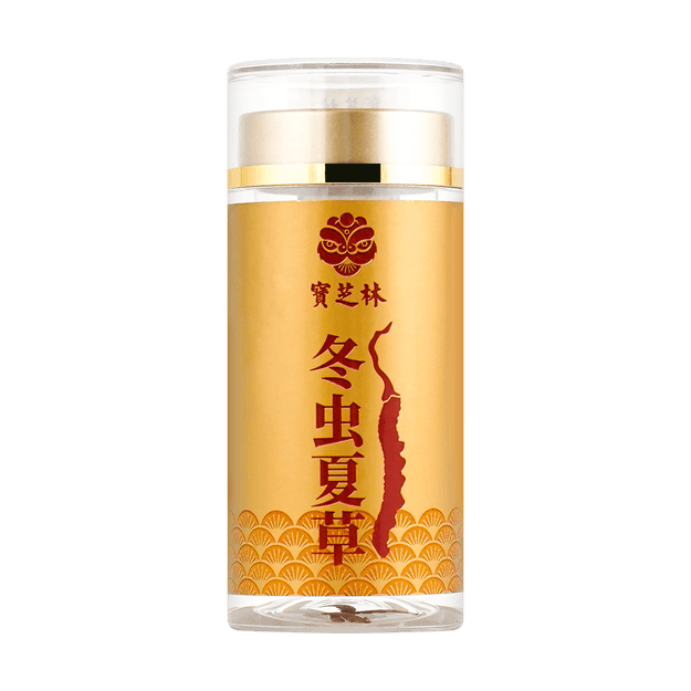 Product Detail - PAO CHI LAM Cordyceps 4 pieces (jar) - image  0