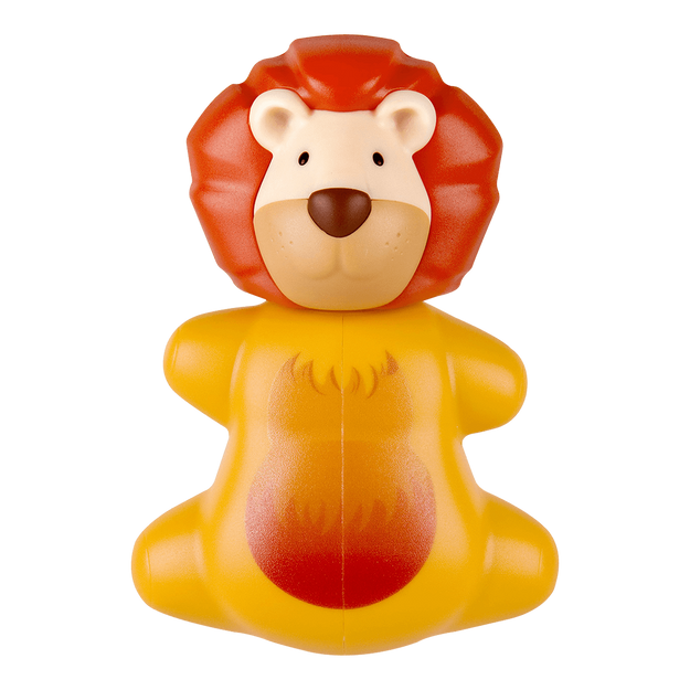 Flipper Animal World Toothbrush Holder Yellow Lion