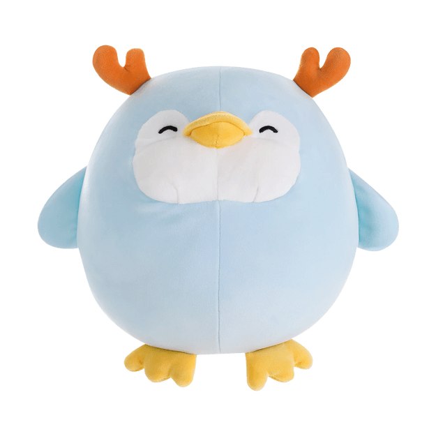 Product Detail - Christmas Series Spherical Plush Toy-Penguin - image  0