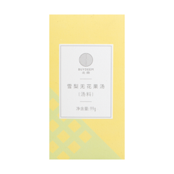 BUYDEEM Snow Pear and Fig Tea 99g