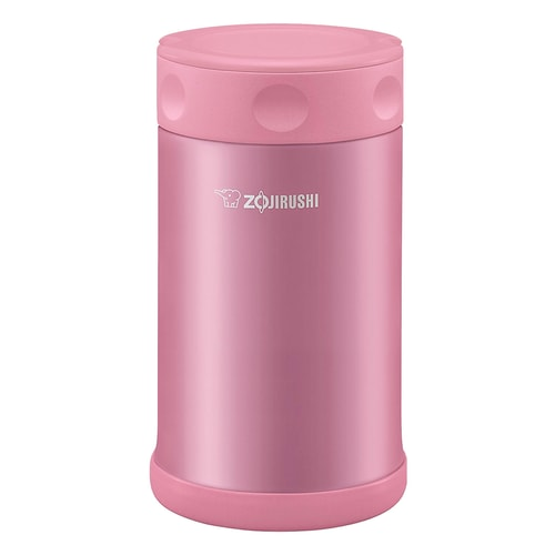 ZOJIRUSHI Stainless Steel Food Jar Pink 750ml SW-FCE75