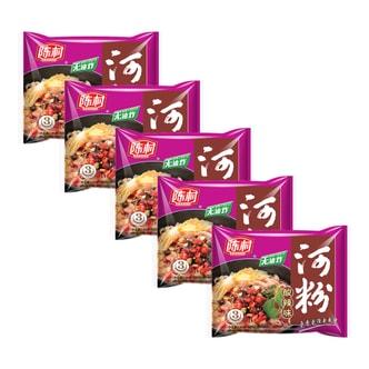 CHENCUNFEN Hot & Sour Instant Rice Noodle 5Packs 425g