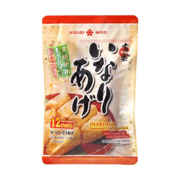 商品详情 - 日本 HIKARI MISO 寿司豆腐袋/皮 176.4克 - image  0