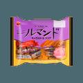 日本BOURBON波路梦 千层酥脆卷 巧克力焦糖味 185g