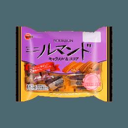 Chocolate and Caramel Crispy Wafer Roll 185g