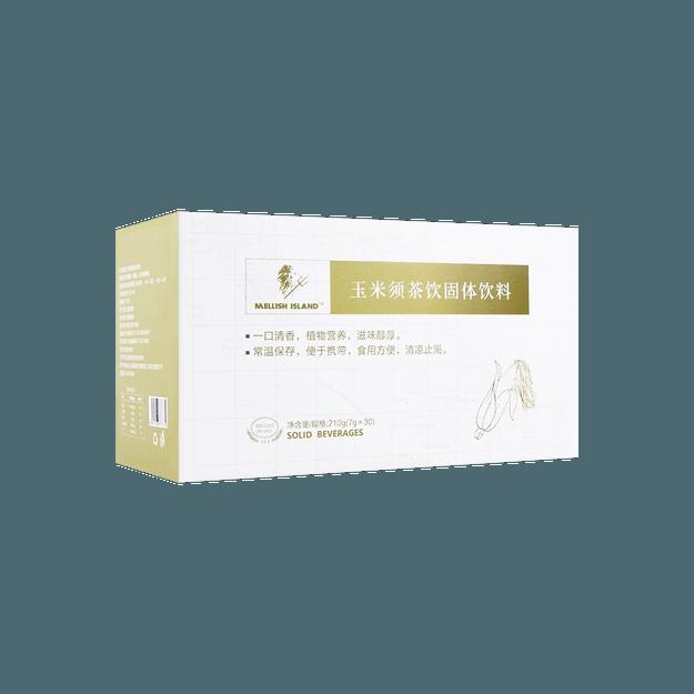 商品详情 - Mellish Island 美丽石岛 玉米须茶饮固体饮料 (7克/袋 x 30袋) - image  0