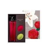 日本POLA 玫瑰香水沐浴礼盒 沐浴乳500ml+玫瑰美体香皂+香水百合美体皂