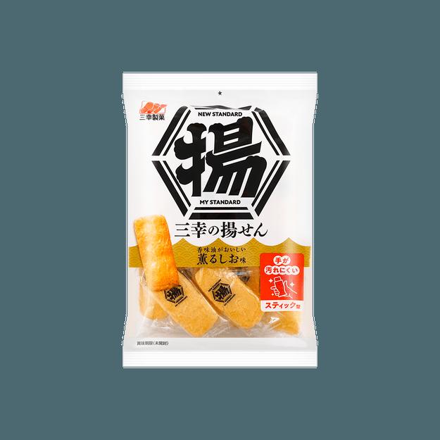 商品详情 - 日本SANKO 三幸 盐味香脆米饼 16只装 87g - image  0