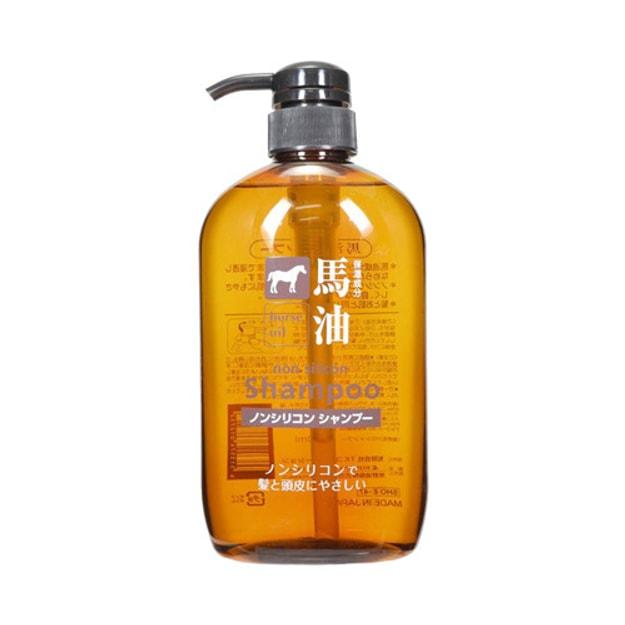 商品详情 - 日本熊野油脂 无硅弱酸性马油洗发水 600ml - image  0