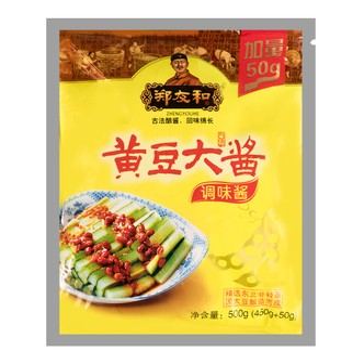 郑友和 黄豆大酱 调味酱 500g