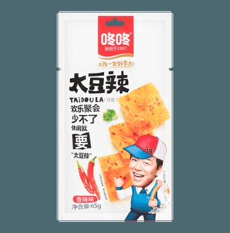 咚咚 太豆辣 豆皮 香辣味 65g