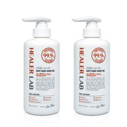 [Combo] Korea Healer Lab Hand Sanitizer with 62% Alcohol 500ml x2 bottles