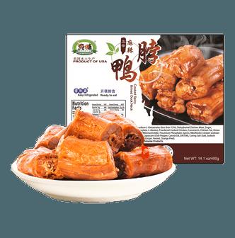 CHUNWEI KITCHEN Cooked Spicy Brined Duck Neck  400g USDA Certified