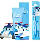 DAENGGIMEORI Poli Kids Toothpaste for children 100g (Blueberry) + Toothbrush