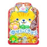 日本SENJAKU扇雀饴 幸福猫咪脚印超萌软糖 可乐味 30g
