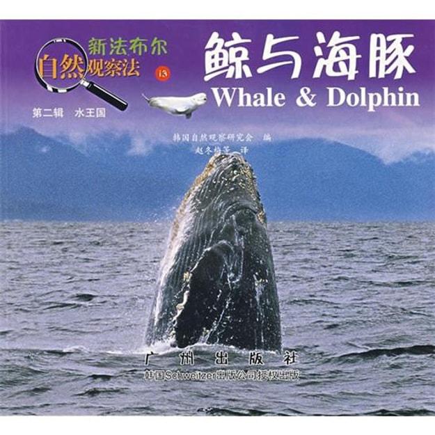 商品详情 - 新法布尔自然观察法13:鲸与海豚(第2辑·水王国) - image  0