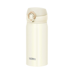 THERMOS 膳魔师||一触式冷热两用轻量便携真空隔热保温杯||白色 350ml 1个