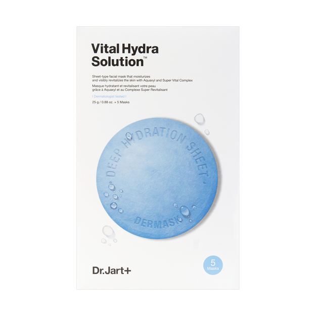 Product Detail - DR.JART+ Dermask Water Jet Vital Hydra Solution Mask 5sheets - image 0
