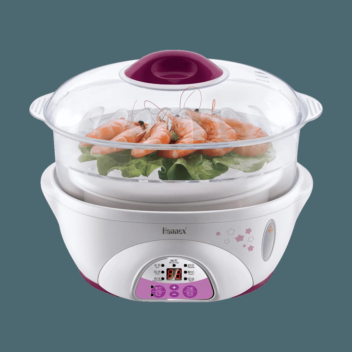 Yamibuy.com:Customer reviews:[New Version] Microcomputer Electric Stew Steamer 2-in-1 Pot 1.7 Qt. 1.7L ESTJ162P