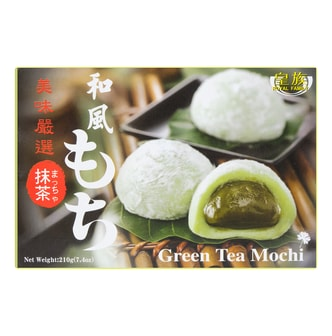 ROYAL FAMILY Matcha Japanese Mochi 210g