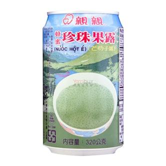 台湾亲亲 蜂蜜珍珠果露 320g