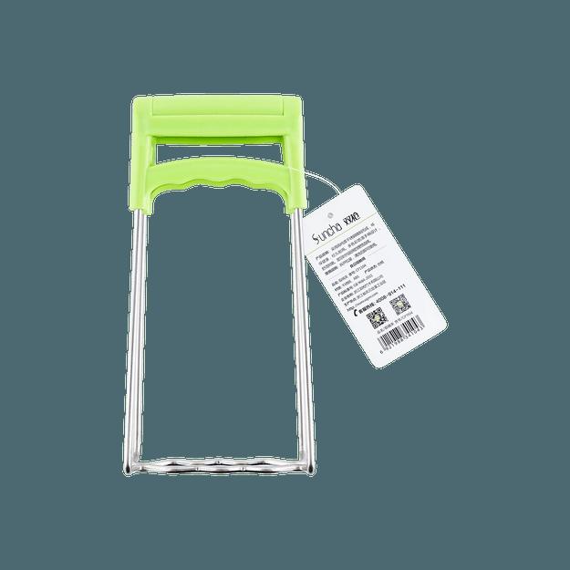 商品详情 - 双枪SUNCHA  不锈钢取碗取碟夹(厨房防烫防滑手夹) 不同颜色随机发 - image  0
