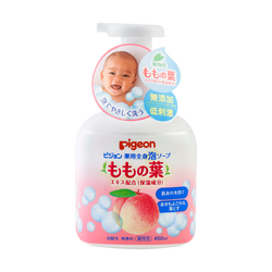 Japan Peach Leaf Medicinal Moisturizing Body Foam Soap 450ml
