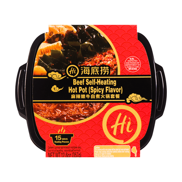 Product Detail - HDL Beef Self-Heating Hot Pot (Spicy Flavor) 357g - image 0