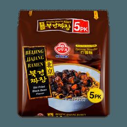 韩国OTTOGI不倒翁 炸酱面 北京风味 5包入 675g