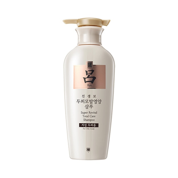 Product Detail - RYO Super Revital Total Care Shampoo For Oily Scalp 400ml - image 0