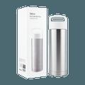 名创优品Miniso 手提便携保温杯360ml-不锈钢色