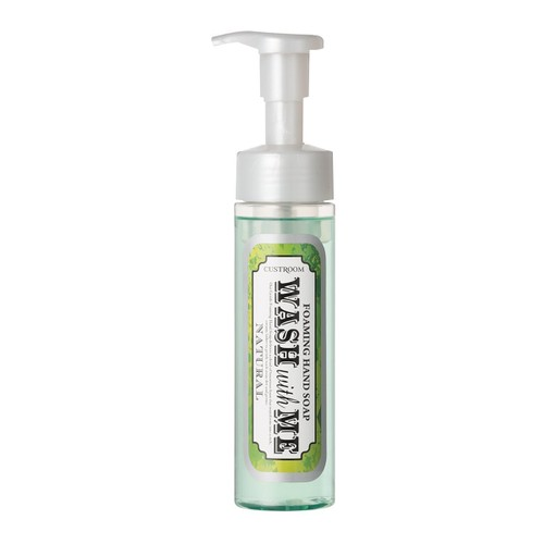 日本PURE SMILE CUSTROOM WASH WITH ME系列 泡沫保湿洗手液 宁静花香味  200ml