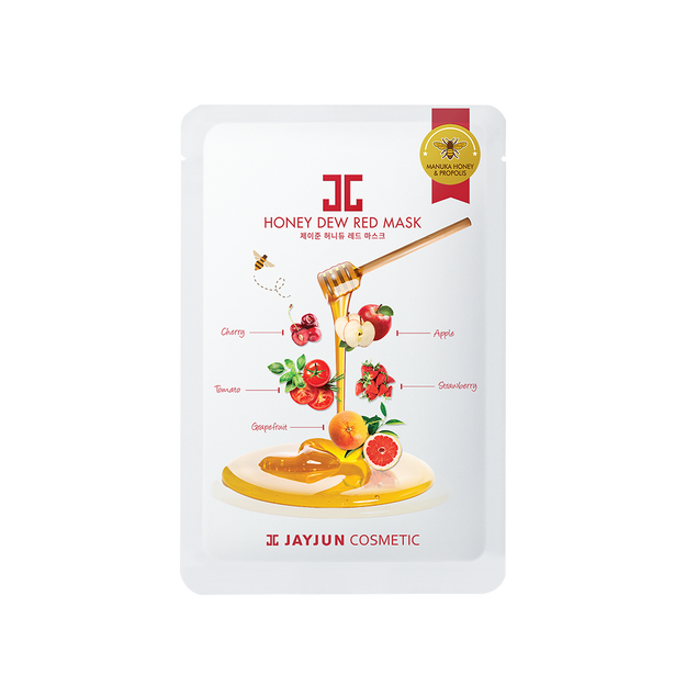 Product Detail - KOREA JAYJUN honey dew red mask 1 sheet - image 0