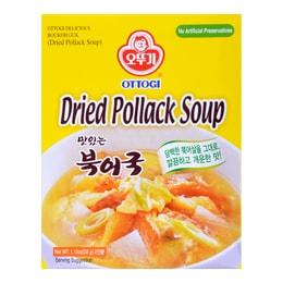 韩国OTTOGI不倒翁 速食干明太鱼醒酒汤 2回份 32g