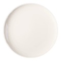 HEY BUNNY Easy Cleaning Ceramic Plate  White 9.8in 1pc