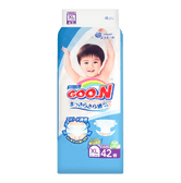 GOO.N Baby Diaper Tape Type XL Size 12-20kg 42pc (with Vitamin E)