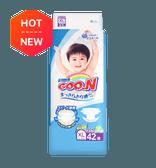 日本GOO.N大王 通用婴儿纸尿布 XL号 12-20kg 42枚入 添加维生素E
