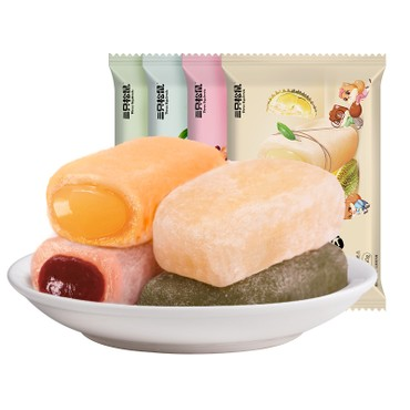 THREE SQUIRRELS Sandwich mochi mango flavor 150g