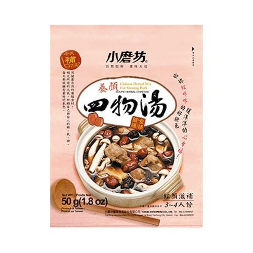 台湾小磨坊 养颜四物汤 药膳食补、红颜滋润煲汤料 3~4人份 怎么样 - 亚米网