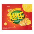 韩国CROWN 芝士夹心饼干 322g