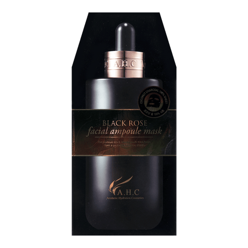 A.H.C. Black Rose facial ampoule  Mask 5sheets