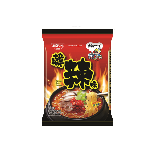 Product Detail - Nissin Instant Noodles Korean Spicy 92g*5 bags - image 0
