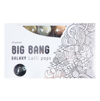 SPARKO SWEETS Galaxy Lollipops Panet Designs Gift Pack 10 Pieces