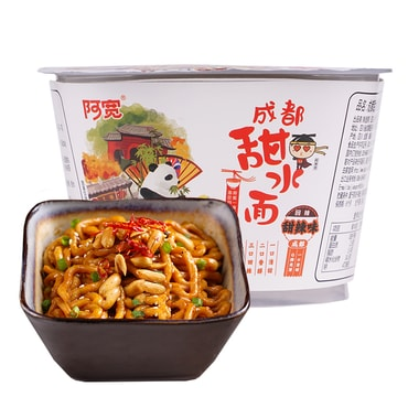 BJ-A-Kuan Instant Noodle Sweet Spicy 270g