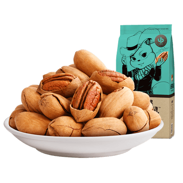THREE SQUIRRELS--Pecans 210g